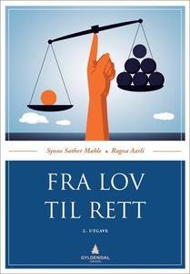 Fra lov til rett (ebok) av Synne Sæther Mæhle