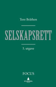 Selskapsrett (ebok) av Tore Bråthen