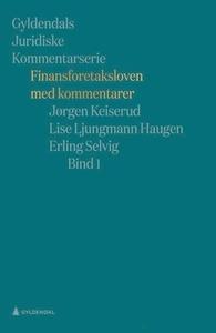 Finansforetaksloven med kommentarer (ebok) av