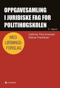 Oppgavesamling i juridiske fag for Politihøgs