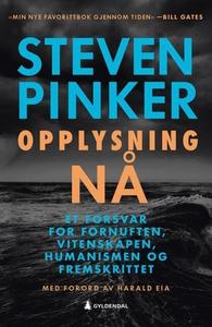 Opplysning nå (ebok) av Steven Pinker