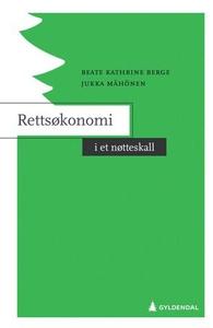 Rettsøkonomi i et nøtteskall (ebok) av Beate