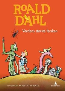 Verdens største fersken (ebok) av Roald Dahl