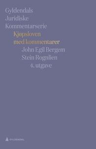 Kjøpsloven med kommentarer (ebok) av John Egi