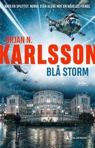 Blå storm (ebok) av Ørjan Karlsson, Ørjan N.