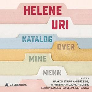 Katalog over mine menn (lydbok) av Helene Uri