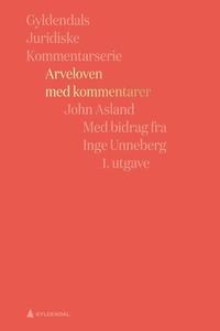 Arveloven med kommentarer (ebok) av John Asla