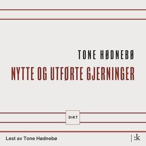 Nytte og utførte gjerninger (lydbok) av Tone