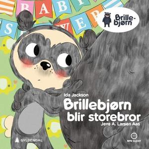 Brillebjørn blir storebror (lydbok) av Ida Ja