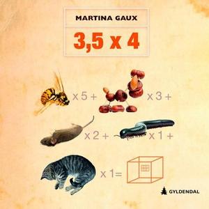 3,5 x 4 (lydbok) av Martina Gaux