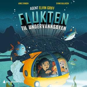Flukten til undervannsbyen (lydbok) av Arne S