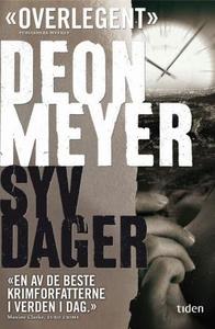 Syv dager (ebok) av Deon Meyer