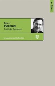 Hva er psykologi (ebok) av Carl Erik Grenness