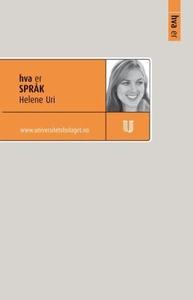 Hva er språk (ebok) av Helene Uri