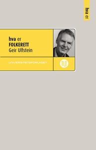 Hva er folkerett (ebok) av Geir Ulfstein