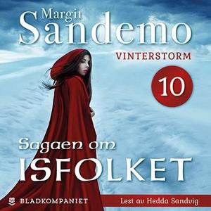 Vinterstorm (lydbok) av Margit Sandemo