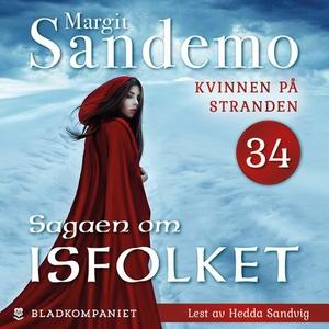 Kvinnen på stranden (lydbok) av Margit Sandem