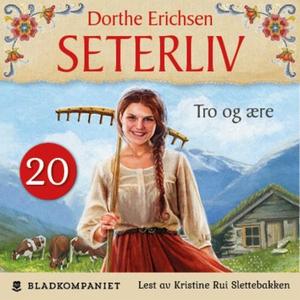 Tro og ære (lydbok) av Dorthe Erichsen