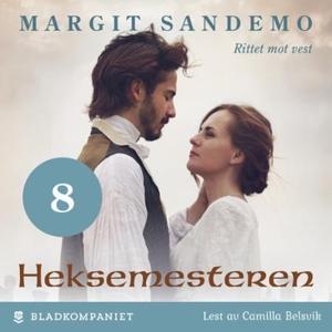 Rittet mot vest (lydbok) av Margit Sandemo