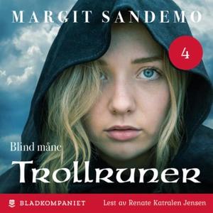 Blind måne (lydbok) av Margit Sandemo