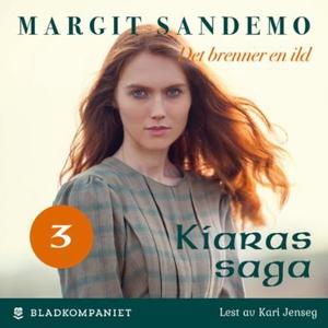 Det brenner en ild (lydbok) av Margit Sandemo