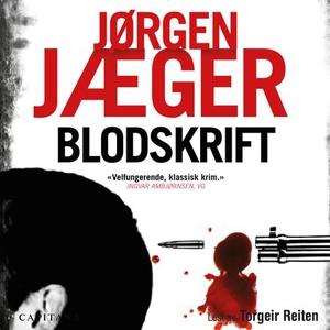Blodskrift (lydbok) av Jørgen Jæger