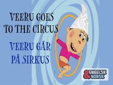 Veeru går på sirkus Engelsk-norsk
