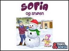 Sofia og snøen Tamil-norsk