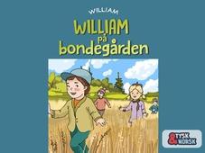 William på bondegården = William geht auf den Bauernhof