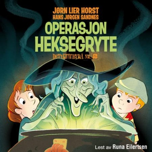 Operasjon Heksegryte (lydbok) av Jørn Lier Ho