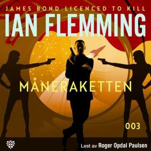 Måneraketten (lydbok) av Ian Fleming