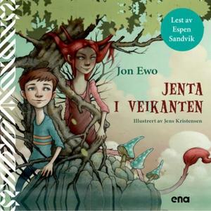 Jenta i veikanten (lydbok) av Jon Ewo