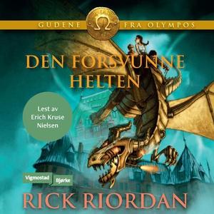 Den forsvunne helten (lydbok) av Rick Riordan