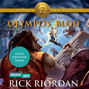 Olympos' blod (lydbok) av Rick Riordan