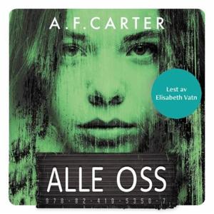 Alle oss (lydbok) av A.F. Carter