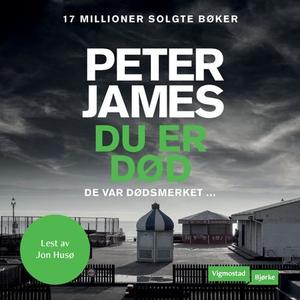 Du er død (lydbok) av Peter James