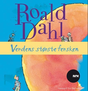 Verdens største fersken (lydbok) av Roald Dah