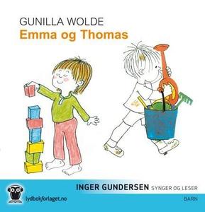 Emma og Thomas (lydbok) av Gunilla Wolde