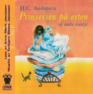 Prinsessen på erten og andre eventyr (lydbok)