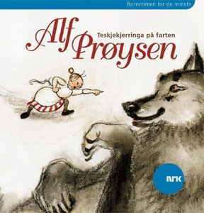 Teskjekjerringa på farten (lydbok) av Alf Prø