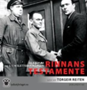 Rinnans testamente (lydbok) av Ola Flyum, Ste