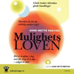 Mulighetsloven (lydbok) av Anne-Mette Røsting