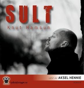 Sult (lydbok) av Knut Hamsun