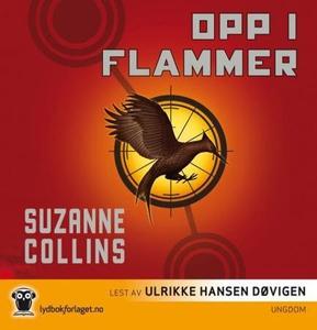 Opp i flammer (lydbok) av Suzanne Collins