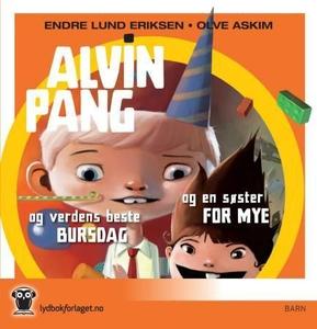 Alvin Pang og verdens beste bursdag ; Alvin P