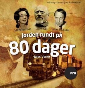 Jorden rundt på 80 dager (lydbok) av Jules Ve