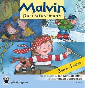 Malvin (lydbok) av Kari Grossmann, Inger Gund
