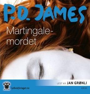 Martingale-mordet (lydbok) av P.D. James