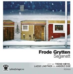 Saganatt (lydbok) av Frode Grytten