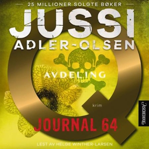 Journal 64 (lydbok) av Jussi Adler-Olsen